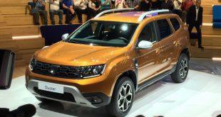 Dacia Duster 2018 фото