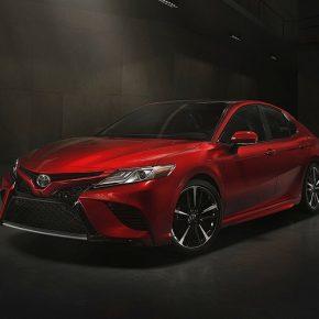 Toyota Camry 2018 получит новый мультимедийный комплекс