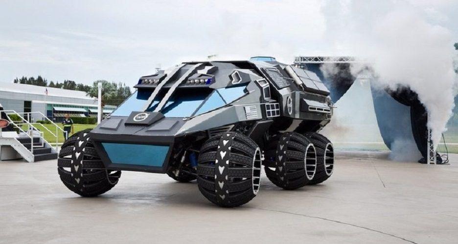 Mars Rover: первый марсианский внедорожник с водителем