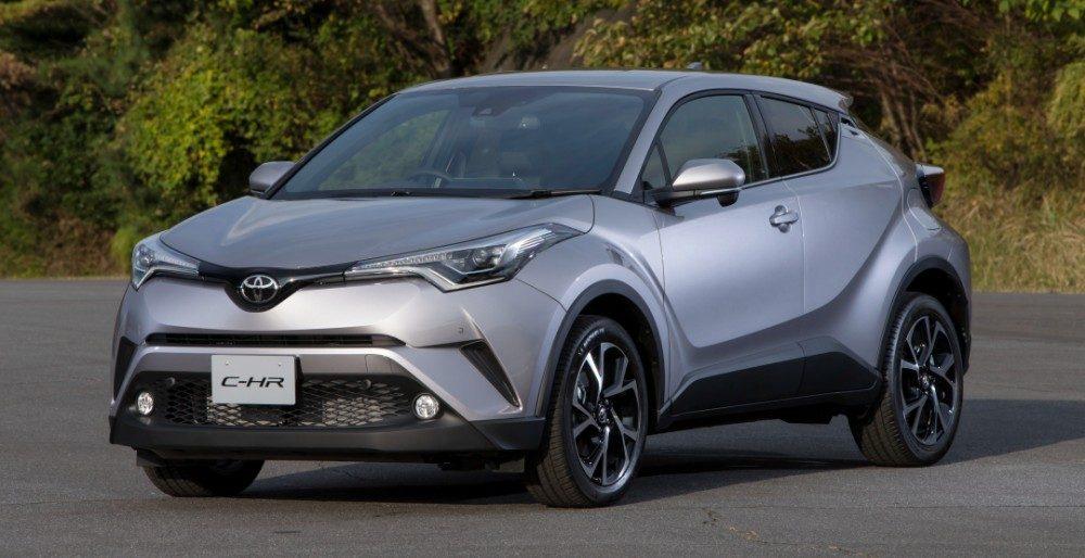 Toyota C-HR 2017: известны подробности о кроссовере для России