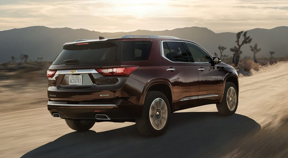 Chevrolet Traverse 2018 фото цена комплектации