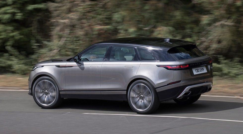 Range Rover Velar в России: цена и комплектации