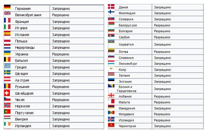 Радар детектор в Европе: чем грозит использование?