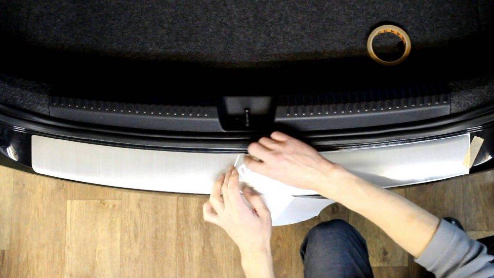 Как защитить задний бампер от повреждений