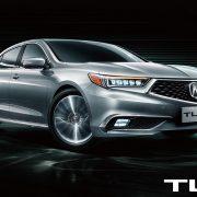 Acura готовит к дебюту «удлиненный» седан TLX-L 2018