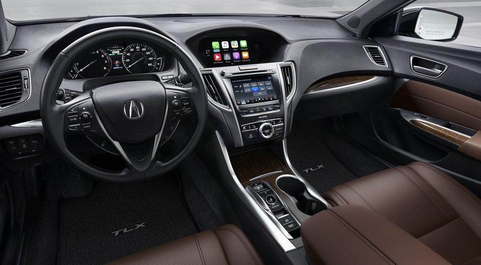 """Acura готовит к дебюту """"удлиненный"""" седан TLX-L 2018"""