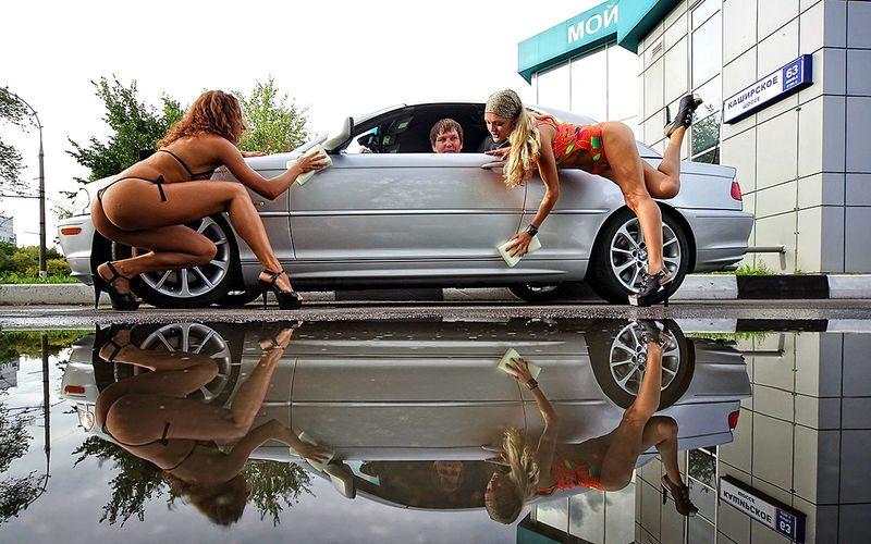 Мыть машину на даче или во дворе: чем это грозит?Мыть машину на даче или во дворе: чем это грозит?