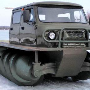 Шнековый вездеход ЗВМ-2901 опять пойдет в производство