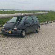 Ограбление по-голландски: алкоголь, Renault Twingo и два фонарных столба