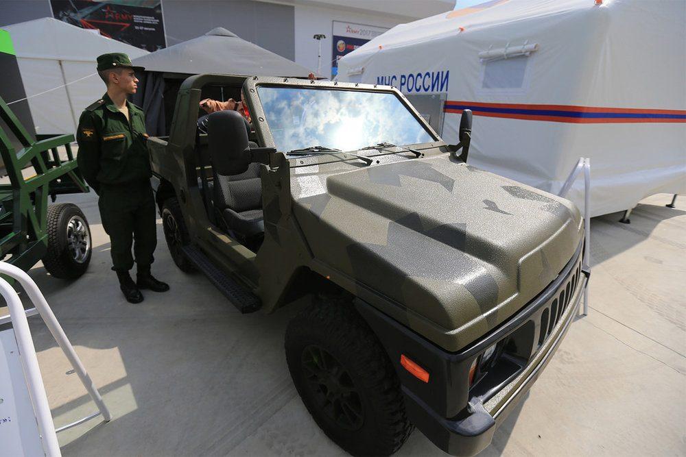 "Нива Сержант на ""Армия-2017"""