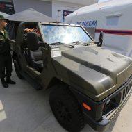 Прототип новой Нивы «Сержант» на «Армия-2017»