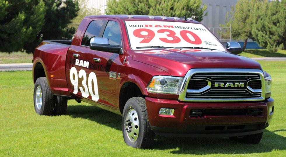 Ram 3500 HD 2018 фото характеристики цена