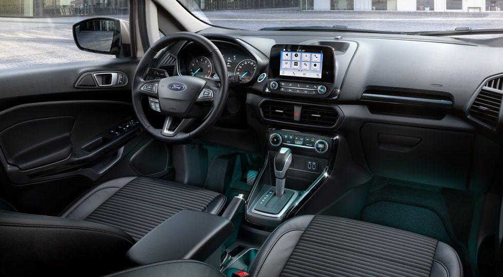 Форд Экоспорт 2018: новый кузов, двигатель и комплектация