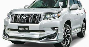Новый Toyota Land Cruiser Prado получил первый тюнинг