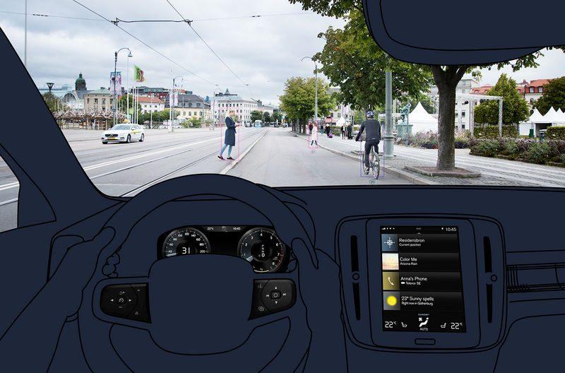 Volvo XC40 фото салона