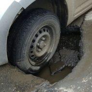 Россиянку оштрафовали «за смену колеса» на обочине