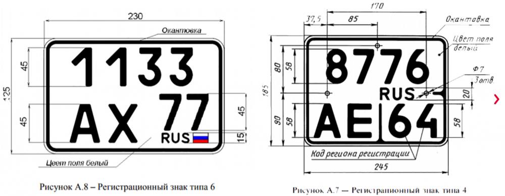 Новые автомобильные номера в России появятся в 2018