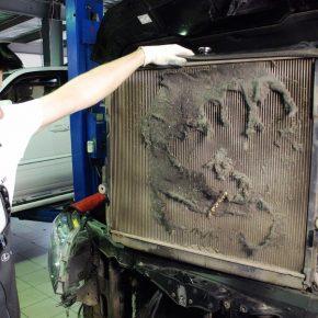 Как промыть радиатор автомобиля?