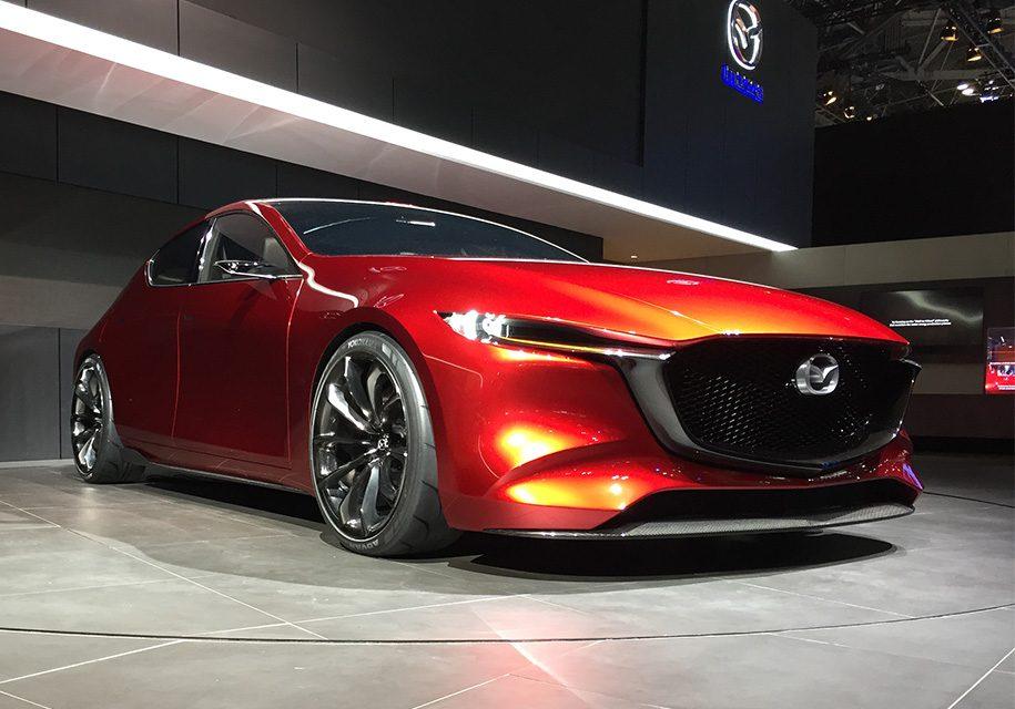 Mazda Kai: каким будет новое поколение Mazda3