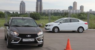 KIA Rio против Lada Vesta Exclusive