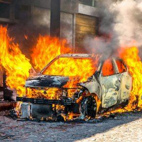Что делать, если автомобиль сгорел?