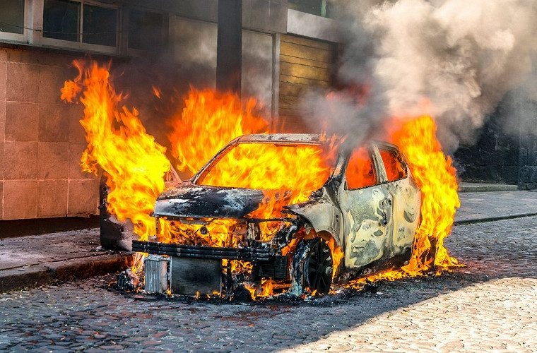 Сгорел автомобиль что делать