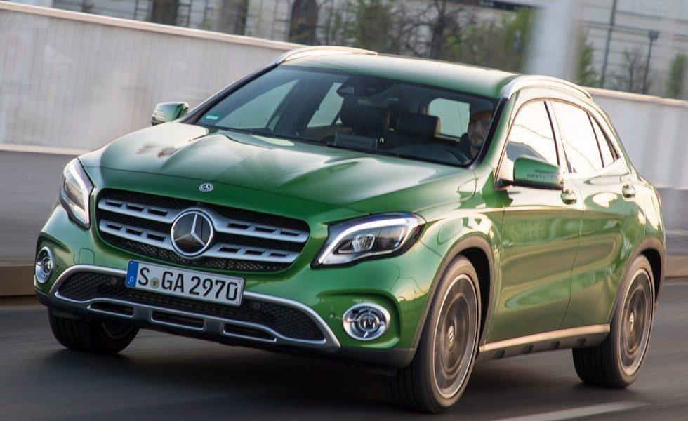 Mercedes-Benz GLA 2019 свежие новости