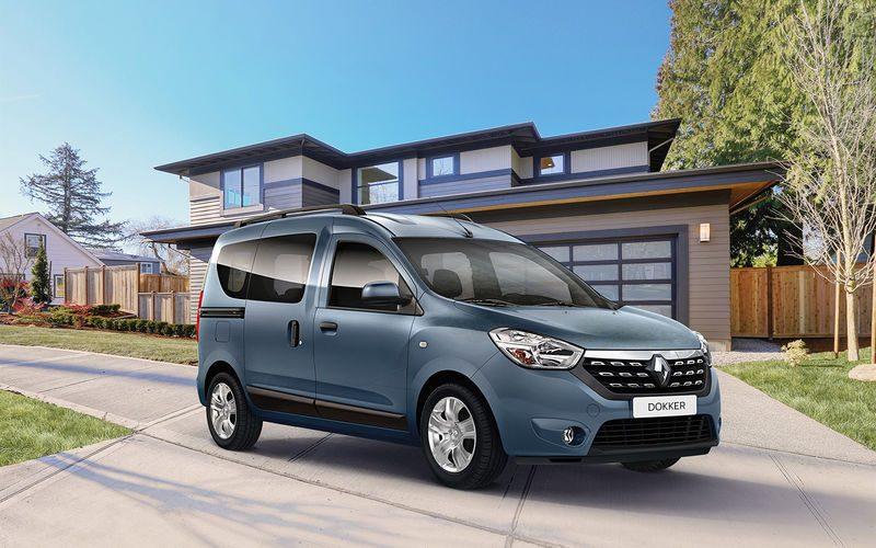 Renault Dokker в России цены и комплектации