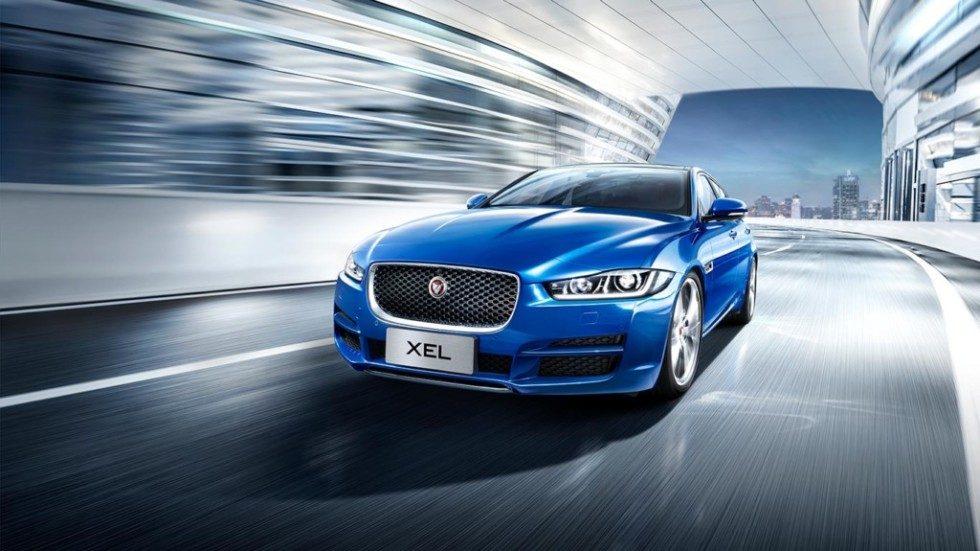 Jaguar XEL фото