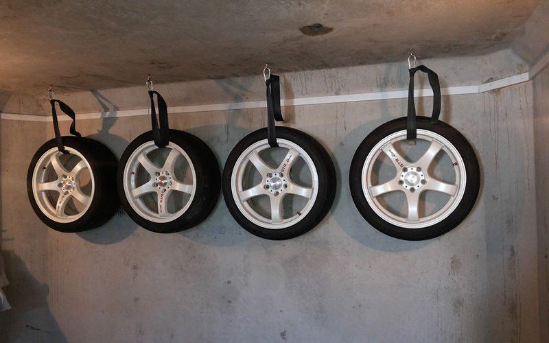 Как правильно хранить колеса?