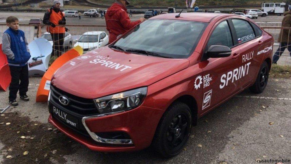 Vesta Rally Sprint: независимая задняя подвеска и другие новшества