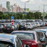 Чем грозит наезд на линию разметки парковки?