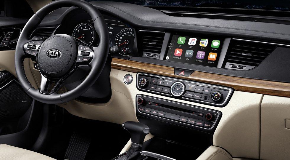 Kia Cadenza 2018: фото, характеристики, цена