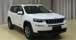 Grand Commander 2018 самый большой внедорожник Jeep