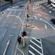 Как не лишиться прав при развороте на перекрестке?