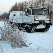 ГАЗ-3344-20 «Алеут» прошел испытание севером
