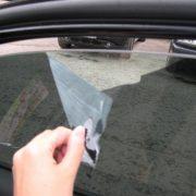 Как снять тонировку со стекла самостоятельно. Видео