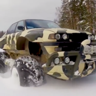 Как превратить старый BMW в чудо-внедорожник?