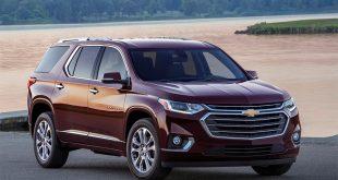 Chevrolet Traverse 2018 в России подробности о характеристиках и комплектациях