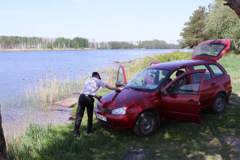 Штраф за мойку машин в неположенном месте увеличат в 10 раз