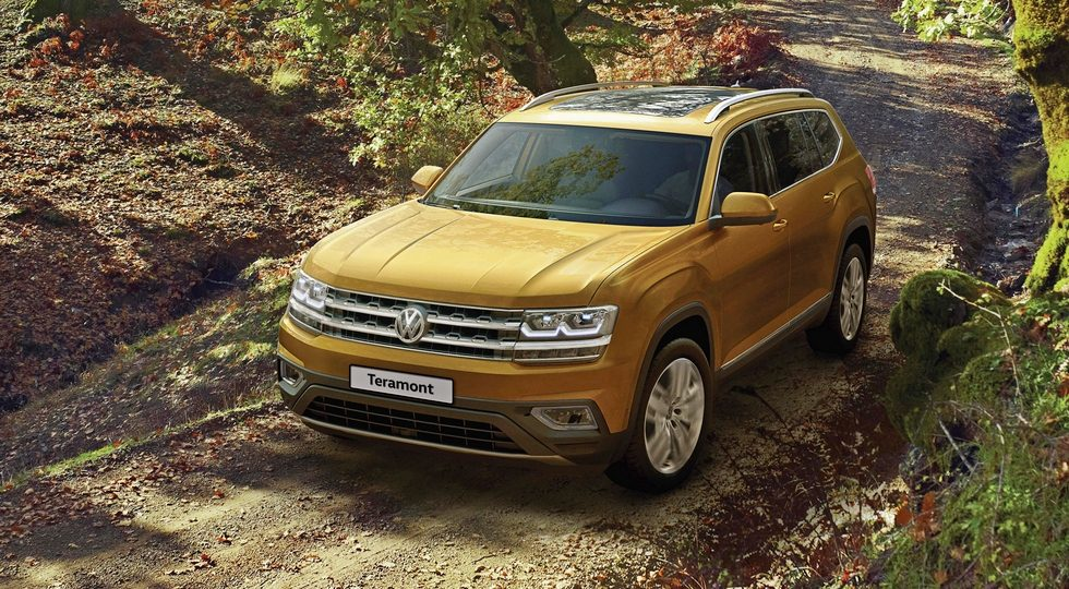 Volkswagen Teramont цена в России