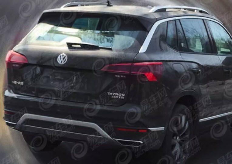 Volkswagen Tayron: первые фото и характеристики