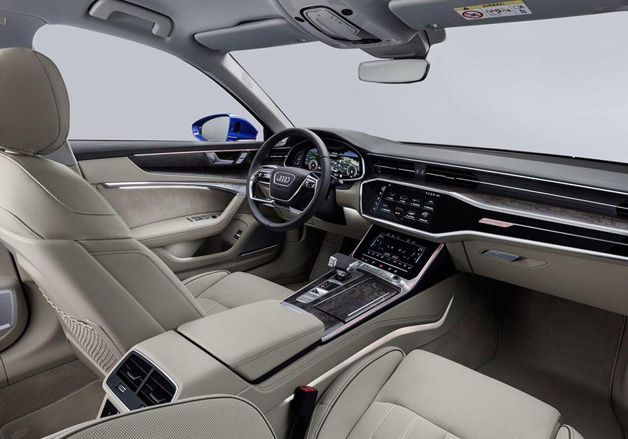 Audi A6 Avant 2019 подробности о рестайлинге