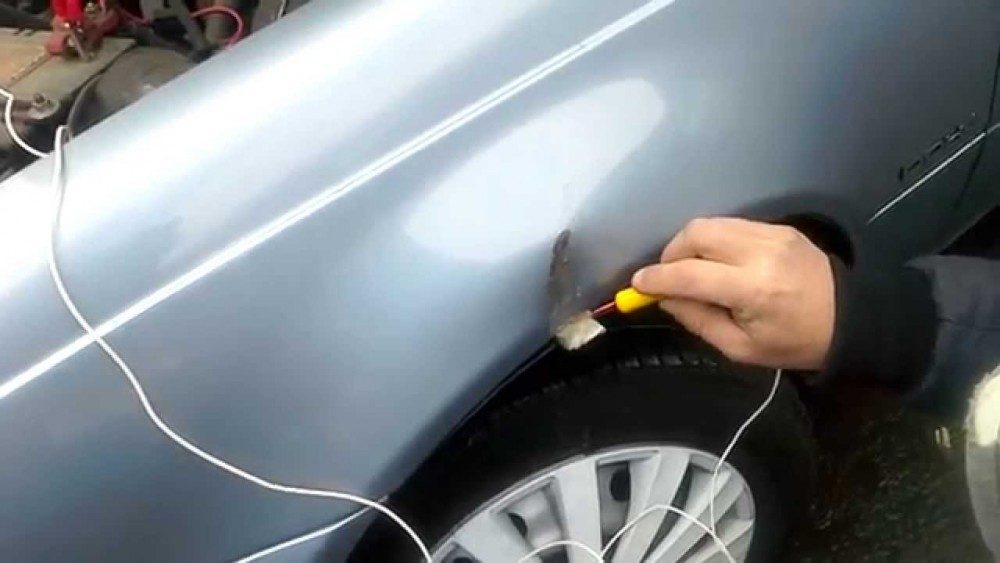 Защита кузова автомобиля от коррозии цинком