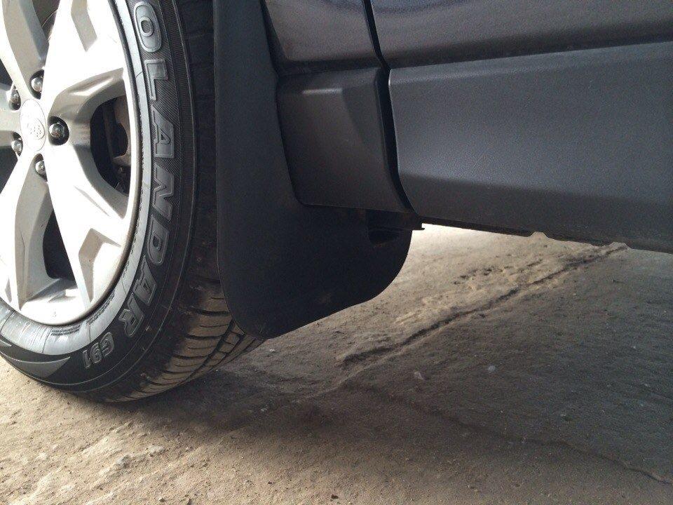 Штраф за отсутствие брызговиков на автомобиле