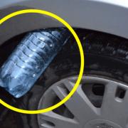 Новый способ угона автомобиля: нужна пустая пластиковая бутылка
