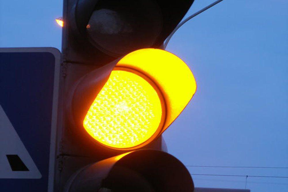 В Украине отменили желтый сигнал светофора