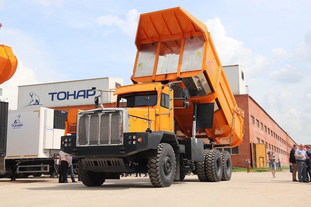Тонар-7501: самый тяжёлый карьерный самосвал российского производства