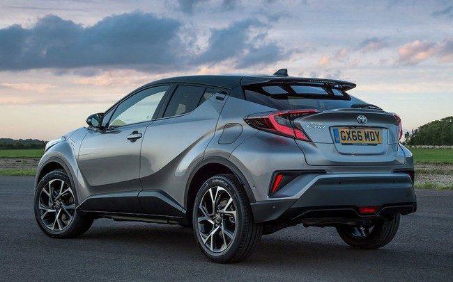 Toyota CHR 2018: стоимость, старт продаж в России