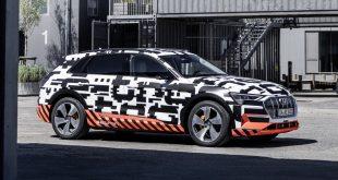 Серийный Audi E Tron: фото и другие подробности